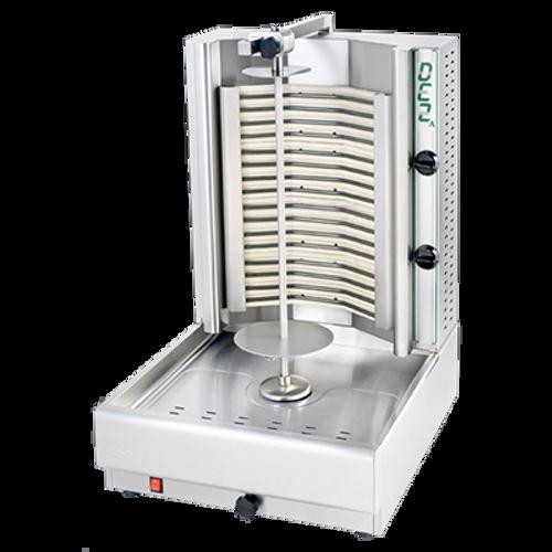 Visvardis - 66 - 100 Lbs Capacity Electric Gyro & Shawarma Machine 208-240 V 6600 W - DE2A