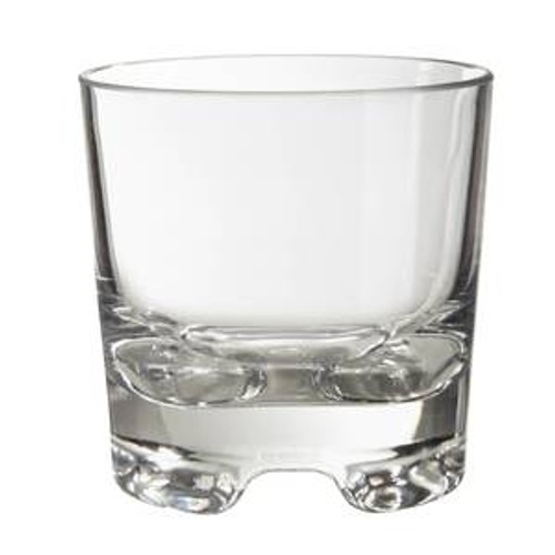 G.E.T - 9oz Clear Rock Glass - SW1423