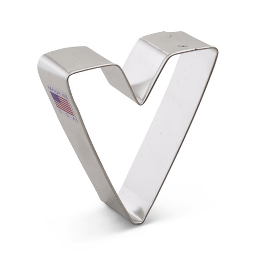 Ann Clark Cookie Cutters - Letter V - 1596A