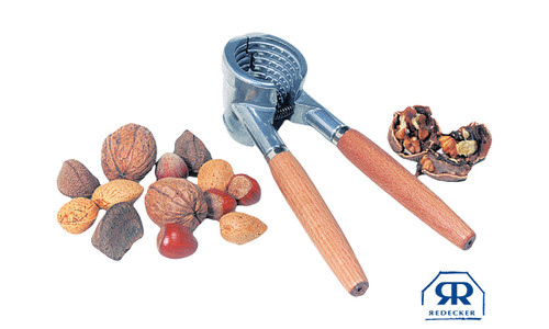 Redecker Aluminum Nut Cracker With Wood Handle