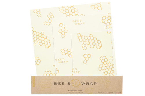 Bee's Wrap Assorted Sizes Set of 3 - BW3003