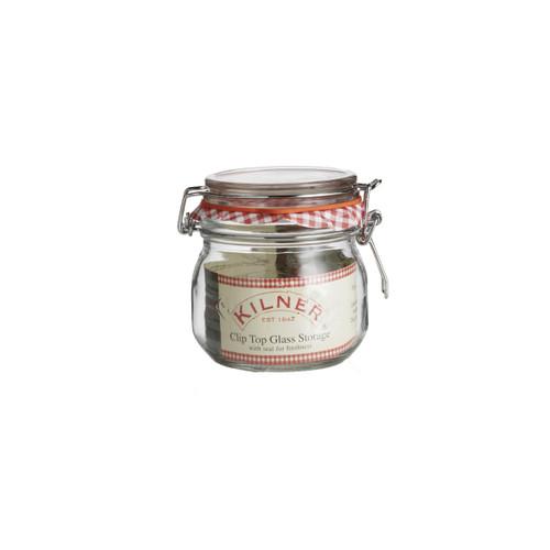 Kilner Clip Top Round 500 ml Jar -KLN15838