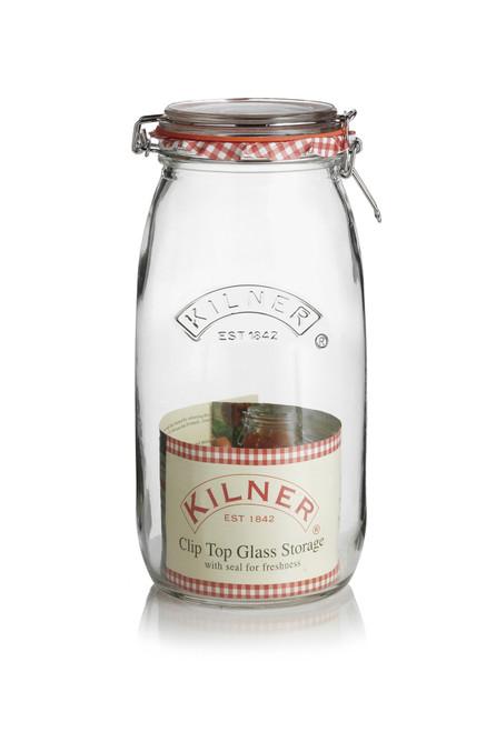 Kilner Clip Top Round 2 Lt Jar - KLN15841