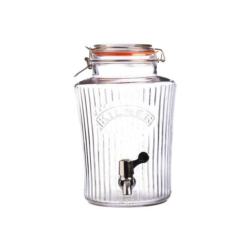 Kilner Vintage 5 Lt Clip Top Drink Dispener - KLN21855