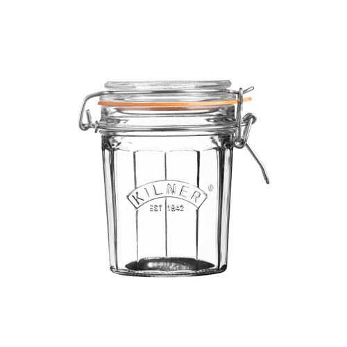 Kilner Faceted 450 ml Clip Top Jar - KLN21870