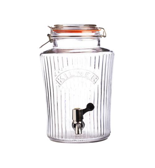 Kilner Vintage 8 Lt Clip Top Drink Dispenser - KLN21886