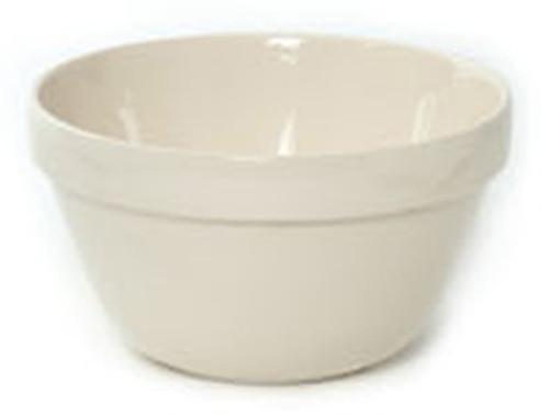 "Mason Cash White Glazed 1.9 L, 7.875"" Pudding Basin - MC14248"