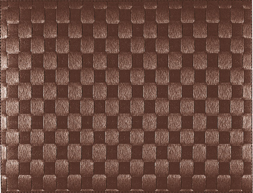 "Saleen Brown 12"" x 15.75"" Woven Placemat - SAL106101"