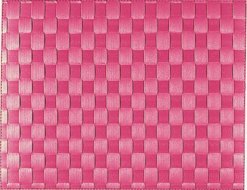 """Saleen Raspberry 12"""" x 15.75"""" Woven Placemat -SAL117101"""