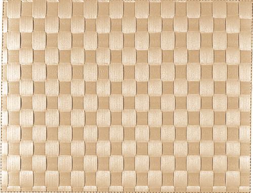 """Saleen Beige 12"""" x 15.75"""" Woven Placemat -SAL130101"""