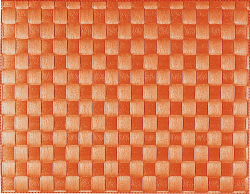 "Saleen Orange 12"" x 15.75"" Woven Placemat - SAL148101"