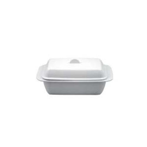 Kitchen Basics - 1 LB Melamine Butter Dish - White - KBG308W