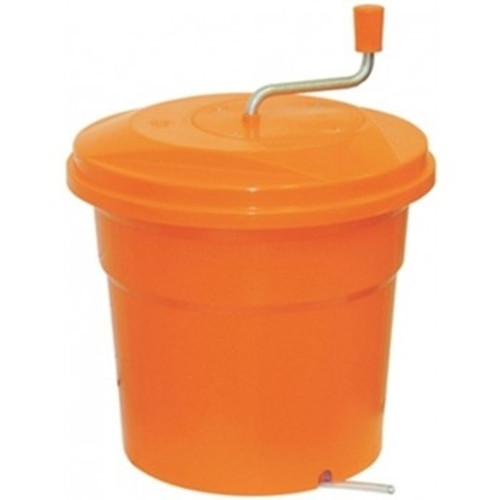 Dynamic 5 Gallon Sealed Lid Manual Salad Spinner - E004