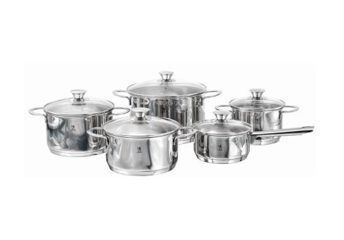 Henckels International - Biarritz 10 Piece Cookware Set