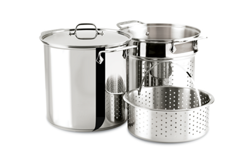All Clad - 12 Qt Stainless Steel Multi-Pot