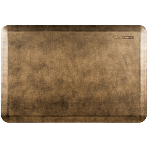Wellness Mats - 3' x 2' Midnight Bronze Linen - PEL32WMRBBK