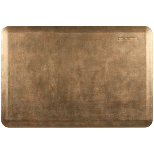 Wellness Mats - 3' x 2' Burnished Copper Linen - PEL32WMRBBR