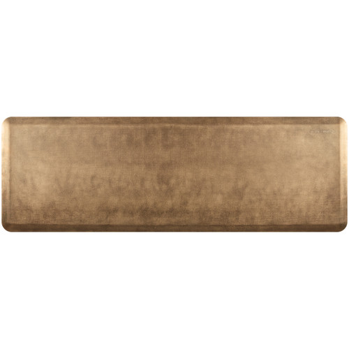 Wellness Mats - 6' x 2' Burnished Copper Linen - PEL62WMRBBR