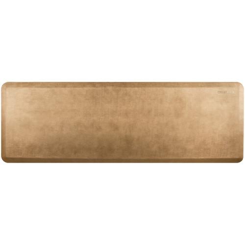 Wellness Mats - 6' x 2' Aztec Gold Linen - PEL62WMRBTN