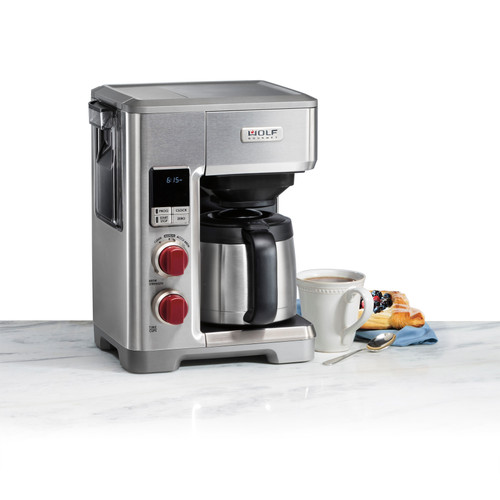 Wolf Gourmet - 10 Cup Programmable Coffee System - WGCM100S