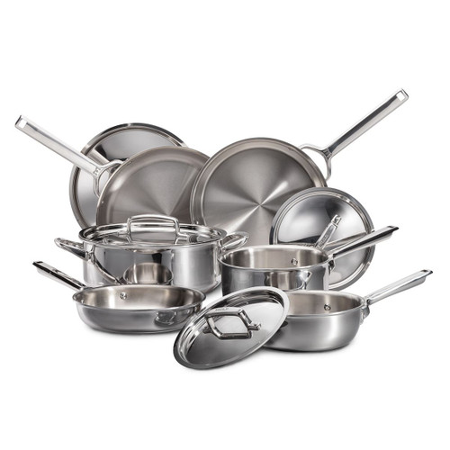 Wolf Gourmet - 7-Ply 10 Piece Cookware Set - ICBWGCW100S