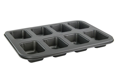 Winco - Heavy Duty Non-Stick Mini Load Pan (Makes 8) - HLF-8MN