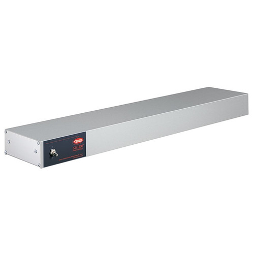 """Hatco Glo-Ray 48"""" Infrared Aluminum Strip Heater Toggle Control Hard Wired 1100W - GRAH-48-208-T"""