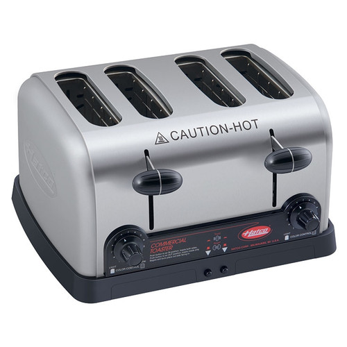 "Hatco 4 Slice 1.25"" Wide Pop-Up Toaster 2600W 240v/60/1-ph - TPT-240"