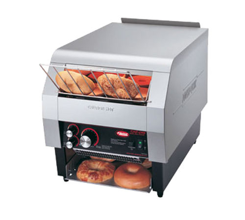 Hatco Toast-Qwik 14 Slice Per Min Single Side Covneryor Toaster  3280W 208V Nema 6-20 TQ-800HBA-208