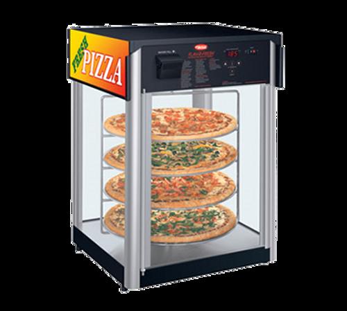 Hatco Flav-R-Fresh Humidified Impulse Pizza / Food Display Cabinet 4 Circular Tier 2 Door 1390W  - FDWD-2-120