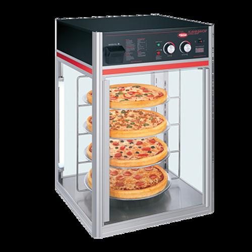 Hatco Flav-R-Fresh Humidified Impulse Pizza / Food Display Cabinet 4 Circular Tier 1440W - FSDT-1-120