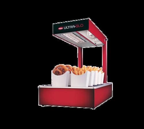 Hatco Ultra-Glo Portable French Fry Warmer W/ Light UnHeated Base 870W - UGFFL-120-T