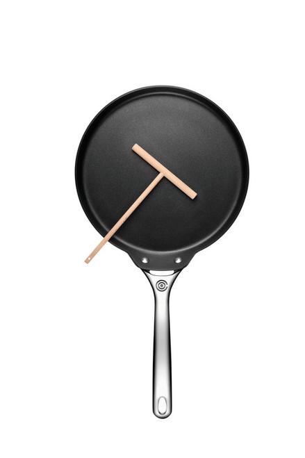 """Le Creuset - 11"""" (28cm) Toughened Non-Stick Crepe Pan w/ Rateau"""