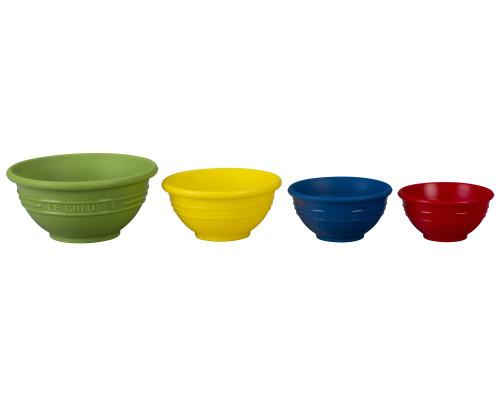 Le Creuset - Silicone Prep Bowls - Set of 4