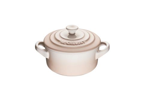Le Creuset - .24 L (0.25 QT) Meringue Mini Round Cocotte