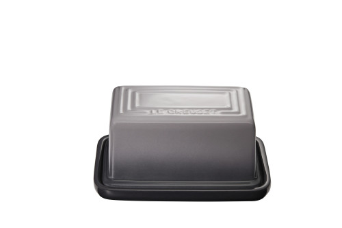 "Le Creuset - 7"" (Holds 1Lb) Oyster Butter Dish"