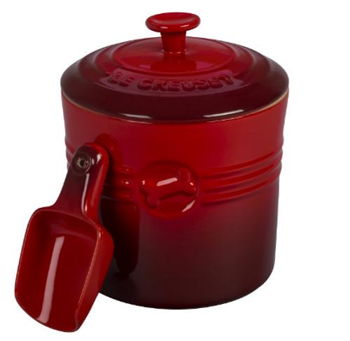 Le Creuset - 1.9 L Cherry Pet Food Container