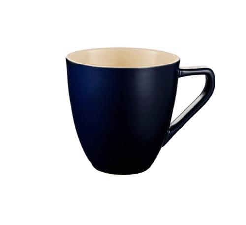 Le Creuset - .35 L Matte Navy Minimalist Coffee Mug - Set of 4