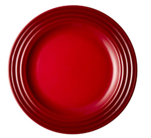 """Le Creuset - 6.7"""" (17cm) Cherry Appetizer Plates - Set of 4"""