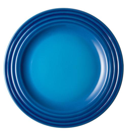 """Le Creuset - 6.7"""" (17cm) Blueberry Appetizer Plates - Set of 4"""