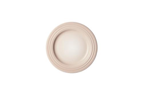 """Le Creuset - 6.7"""" (17cm) Meringue Appetizer Plates - Set of 4"""