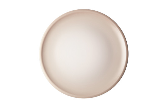 """Le Creuset - 10.5"""" (27 cm) Meringue Minimalist Dinner Plates - Set of 4"""