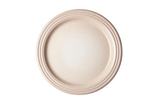 """Le Creuset - 10.5"""" (27 cm) Meringue  Dinner Plates - Set of 4"""