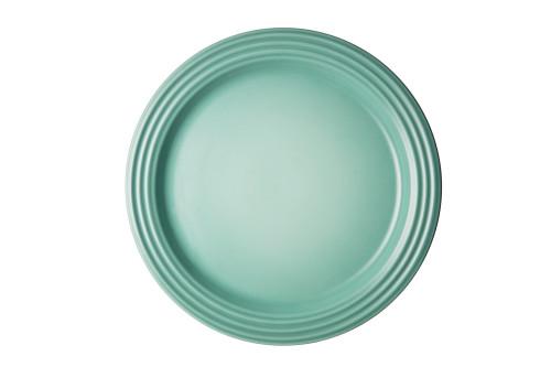"""Le Creuset - 10.5"""" (27 cm) Sage Dinner Plates - Set of 4"""