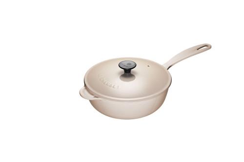 Le Creuset - 2 L (2.25 QT) Meringue Saucier Pan