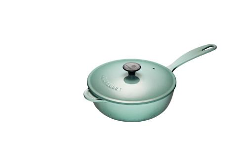 Le Creuset - 2 L (2.25 QT) Sage Saucier Pan