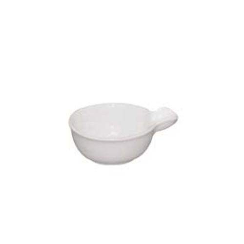 Port-Style - Mini White Porcelain Dish  8 x4 CM - MSP102