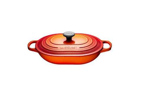 Le Creuset - 3.4 L (3.6 QT) Flame Oblong Casserole