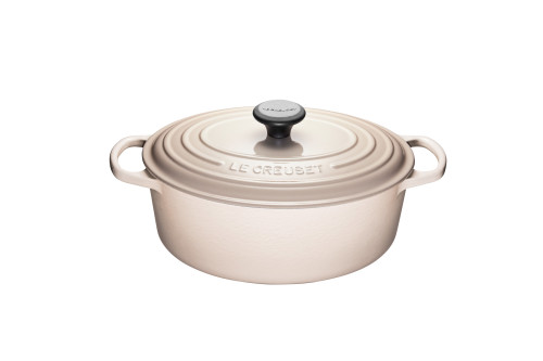Le Creuset - 4.7 L (5 Qt) Meringue Oval French Oven