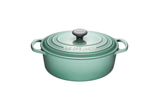 Le Creuset - 4.7 L (5 Qt) Sage Oval French Oven